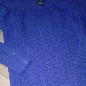 Rue 21 Blue Medium Knit Shirt